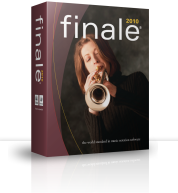 The new look of Finale 2010
