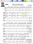 Music Reader - Page with Annotations