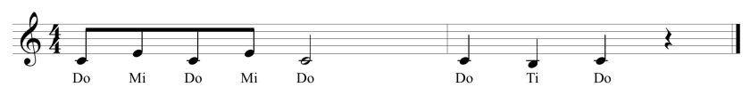 18 Introductory Solfege