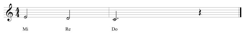 20 Introductory Solfege