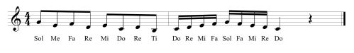 22 Fifth Solfege