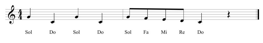 23 Fifth Solfege