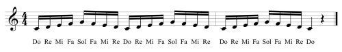 24 Fifth Solfege