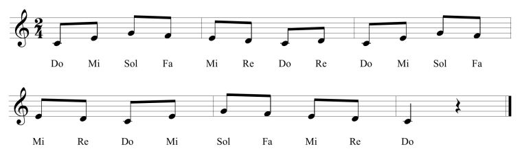 26 Fifth Solfege