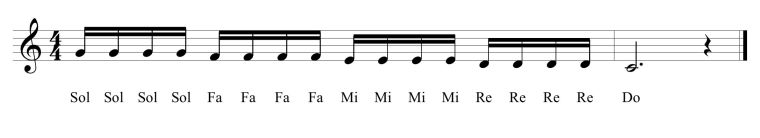 27 Fifth Solfege