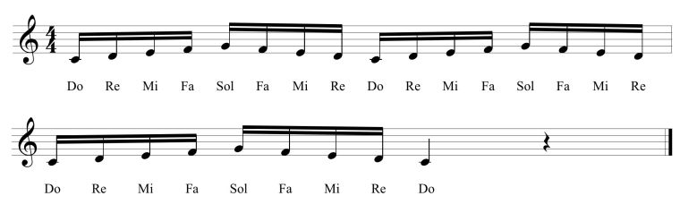 28 Fifth Solfege