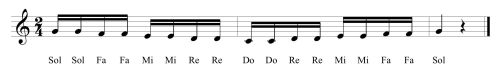 29 Fifth Solfege