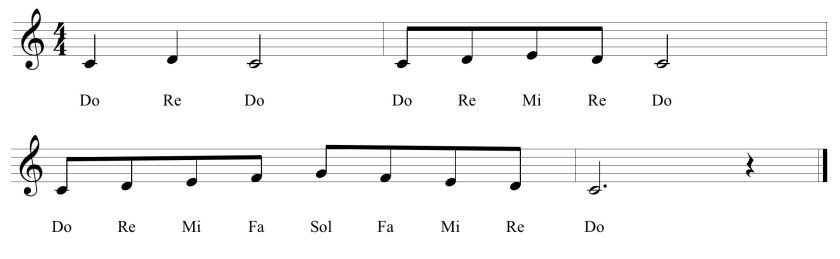 30a Fifth Solfege