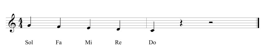30c Fifth Lizard Tongue Solfege