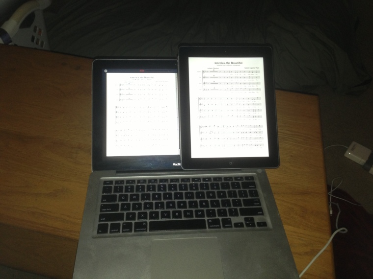 MacBook vs iPad