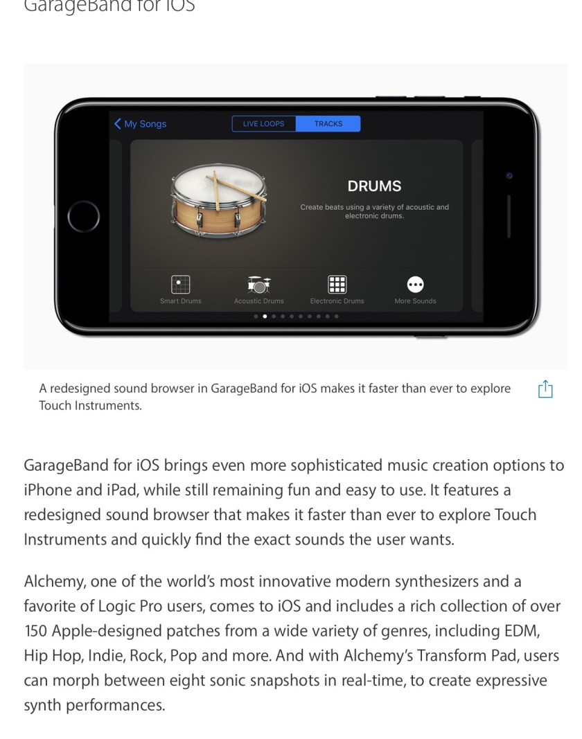 January Updates to GarageBand – Technology in Music Education